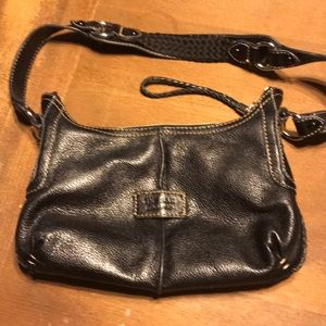 Cute leather The Sak bag!